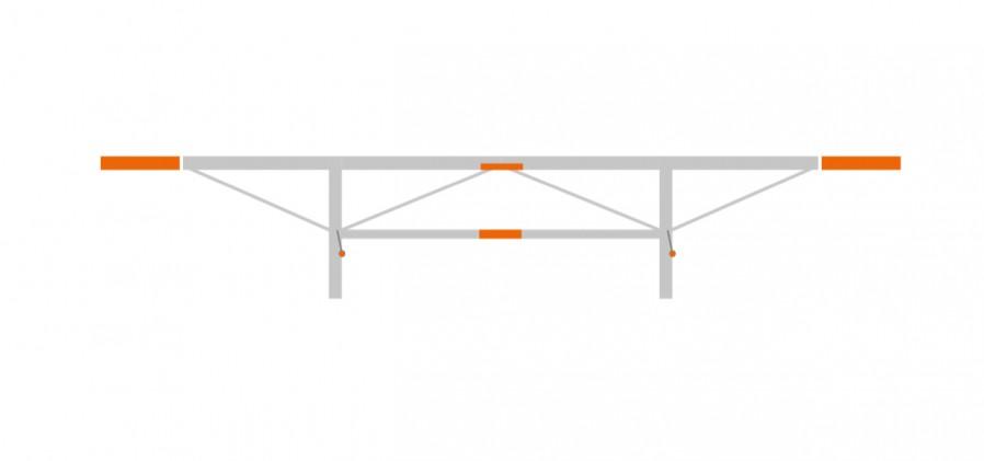 Verlängerungspaket 2 x 0.5 m, (F2,F2+)