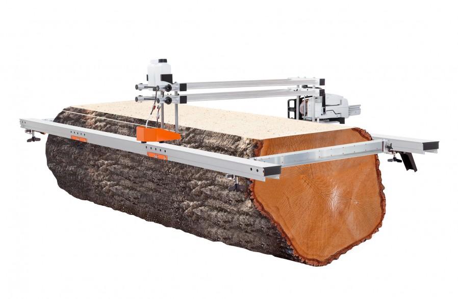 Big Mill mit Holmpaket für 142 cm Führungsschiene