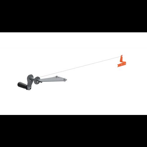 Kurbel-Direktantrieb für Motorsägen